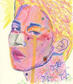 """딸기 on Twitter: """"moon river and me #JIMIN #지민 #btsfanart… """" Simple Art, Unique Art, Fanart, Bts Drawings, Cute Illustration, Art Sketchbook, Medium Art, Traditional Art, Art Sketches"""