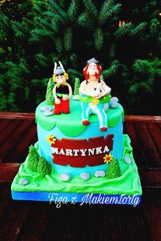 #Cake Asterix ,Obelix #Tort Asterix, Obelix#