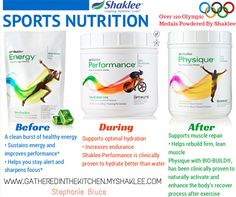 Sports Nutrition with Shaklee - GatheredInThe Kitchen.com