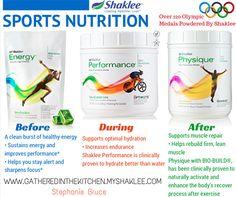 Sports Nutrition with Shaklee - www.naturalblonde.myshaklee.com