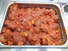 BBQ meatballs with pineapple