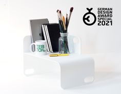 We are happy to announce that our UNIUNIT has won the German Design Award Special 2021 | A BIG thank you to the German Design Council and the jury. The official announcement will launch in mid. November. The UNIUNIT XS is a sophisticated #storage solution and a unique #design piece for your #desk or on top of your drawer chest for example for smartphones or things that sometimes carelessly cause trouble on your desk or just to highlight something #beautiful like on a stage.