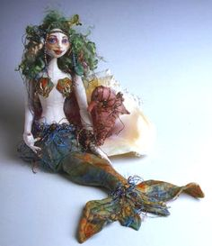 Cloth Doll Patterns by Patti Culea, I adore this one and would like to make her to sit by my jet tub
