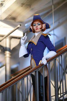Ryoko as Captain Amelia J-popcon 2014 Photo by Kifir
