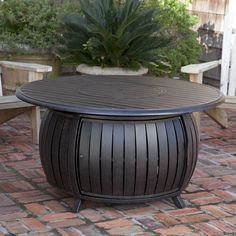 Found it at Wayfair - Extruded Aluminum Propane Fire Pit