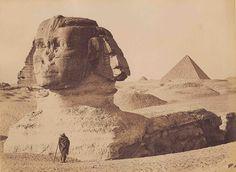 The Great Sphinx -  c. 1857-9