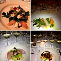 Amazing Chablis wine dinner at Lucques L. Chef Recipes, Wine Recipes, Chablis Wine, Chardonnay Wine, Wine Dinner, James Beard, Wine Pairings, Executive Chef, Award Winner