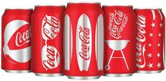 Design et plus...: Coca Cola y su versión veraniega de las latas
