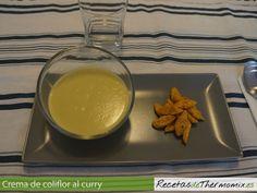 Preparamos una crema de coliflor con un toque de curry, ideal para los amantes de la gastronomía de La India o las dietas vegetarianas.