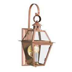 New Orleans Outdoor Wall Sconce Copper Wall Light, Copper Lantern, Copper Lighting, Outdoor Wall Lighting, Exterior Lighting, Wall Sconce Lighting, Wall Sconces, Outdoor Ceiling Fans, Outdoor Wall Lantern