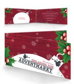 Editierbare Einladungskarten für Weihnachten von onlineprintxxl.com #einladungskarten #weihnachten#weihnachtsfeier