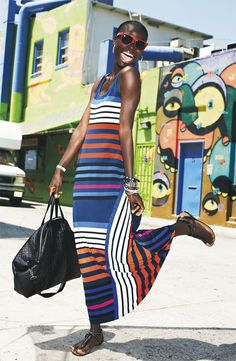 Page 59: Calvin Klein Multi Stripe Tank Maxi Dress #Nordstrom #December #GiftsWithGusto