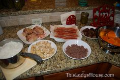 Cheap Meals (the 1 week plan) - This Lady's House - there are some good ideas here....