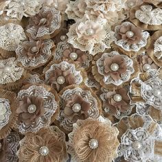 more burlap and lace flowers on my etsy shop.