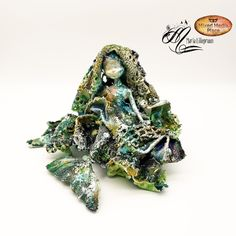Broken Doll, Different Media, Latest Colour, Plastic Beads, Alters, Mixed Media Art, Altered Art, Glass Art, To My Daughter