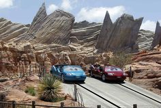 Disney's best new ride in 35 years: Radiator Springs Racers at Cars Land.