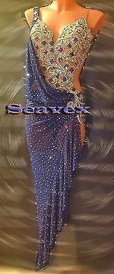 Women Ballroom Latin Rhythm Rumba Salsa Dance Dress US 8 UK 10 Same Color in Clothing, Shoes & Accessories, Dancewear, Adult Dancewear | eBay