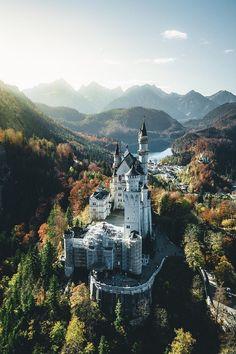 "alecsgrg: ""Neuschwanstein Castle, Germany | ( by Manuel Dietrich ) """