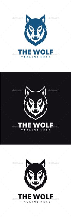 Wolf Logo — Photoshop PSD #wolf #image • Available here → https://graphicriver.net/item/wolf-logo/15093590?ref=pxcr