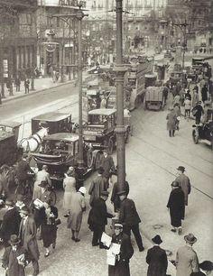 Berlin, embouteillage, 1927