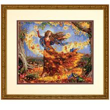 Dimensions® Counted Cross Stitch Kit, Fall Fairy