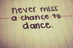 Anything and Everything Dance!