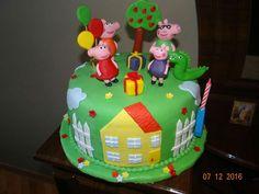 Pig peppa cake