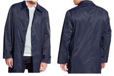 NWOT Lauren Ralph Lauren Men Navy Blue Raincoat Size L #LaurenRalphLauren #Rainwear