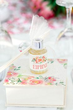 Παραμυθένια κοριτσίστικη βάπτιση με θέμα floral blossom - EverAfter Fairy Tales, Girly, Gift Wrapping, Floral, Wedding, Women's, Gift Wrapping Paper, Valentines Day Weddings, Girly Girl