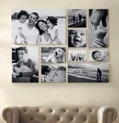 5 Increíbles ideas para organizar y ‪#‎decorar‬ con fotos!. ‪#‎decoracion‬…