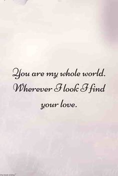 Love is unconditional. Here are the best love quotes for him send this cute quotes to your husband or boyfriend to make him happy and wish good morning. Love Quotes Poetry, Qoutes About Love, Love Quotes For Her, Best Love Quotes, Quotes For Him, Top Quotes, Life Quotes, Romantic Messages, Love Messages