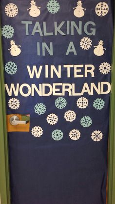 How about Learning in a Winter Wonderland? Numbers and letters on the snowmen and snowflakes.
