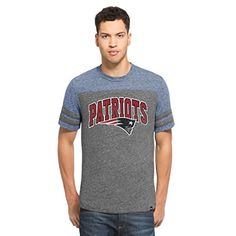 NFL New England Patriots Mens 47 Neps Football Tee Large Vintage Grey * Continue to the product at the image link.