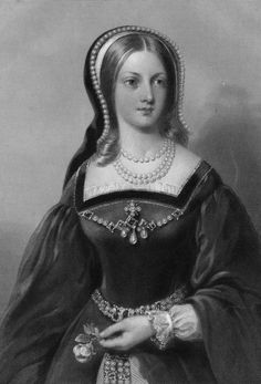 "Lady Jane Grey, ""The 9 Day Queen"". Named successor by HenryVI, reluctantly ruled for 9 days, then overthrown by Queen Mary, who signed her death warrant. She was 17 when she was beheaded."