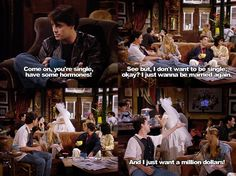 Friends first episode.