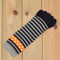 Wiggle Socks New Unisex Socks Cotton Meias Sports Five Finger Socks Toe Socks For EU 40-46 Calcetines Ankle Socls