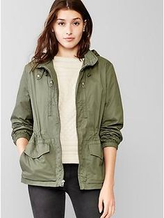 this with distressed denim and either a striped tee or gingham ...