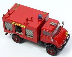 Corgi Toys Prototype Mercedes Benz Unimog Fire Truck Mercedes Benz Unimog, Corgi Toys, Matchbox Cars, Metal Toys, Diecast Models, Classic Toys, Toy Boxes, Old Toys, Fire Trucks