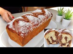 PAN BRIOCHE SOFFICISSIMO NUTELLA E COCCO ricetta facile VERY SOFT NUTELLA AND COCONUT BRIOCHE - YouTube Food Cakes, Sweetly Cake, Hazelnut Butter, Plum Cake, Chocolate Shop, Croissants, C'est Bon, Cake Cookies, Cake Recipes
