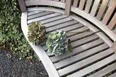Dried blue-green hydrangea £7.95 per stem head diameter roughly 15-20cm varying stem length