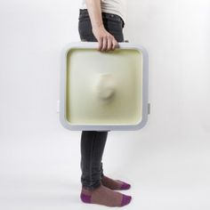 Reusable Fragile packaging forms a  protective skin around delicate objects