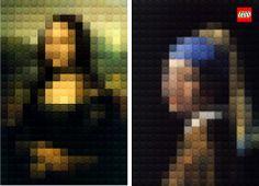 lego - mucho antes de que existiesen los píxels...