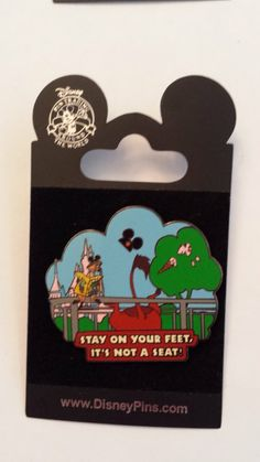 Timon and Pumbaa Stay on Your Feet, It's Not A Seat! Disney Pin Trading Collectible Lapel Pins