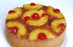 Eggless Pineapple Upside-Down Cake | Marias Menu