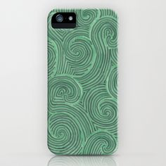 Swirl Power iPhone & iPod Case by Shiny Jill - $35.00 Sometimes I wish I had an iPhone.  :)