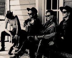 Depeche Mode en 1989: Dave Gahan, Martin Gore, Alan Wilder, Andy Fletcher.
