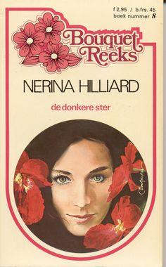 Bouquet 8 -  Nerina Hilliard - De donkere ster #harlequin #bouquet #bouquetreeks #nerinahilliard #boeken #vintage