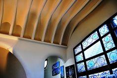 02 Parque Güell Pabellón de Administración 10 13253 - Parque Güell (Park Güell) Calle Olot, Monte del Carmel, Barcelona  Arquitecto: Antoni Gaudí con la colaboración de Josep Maria Jujol, Francesc Berenguer, Joan Rubió y Llorenç Matamala.