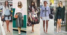 Bom dia! O scarpin branco está fazendo o maior sucesso entre as fashionistas! Você usaria?