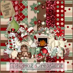 "The theme for November was based on the theme ""A Creative Chicks Christmas""! Please leave some love when downloading!"
